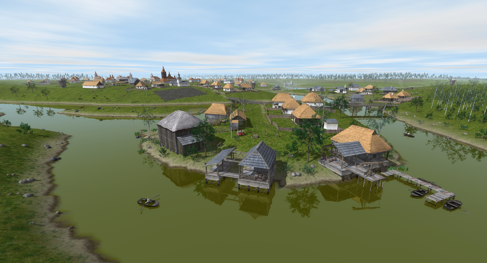 ostriv a new city building game in development city building