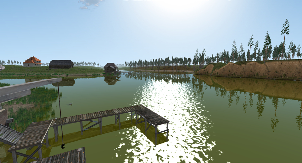 water reflections glsl