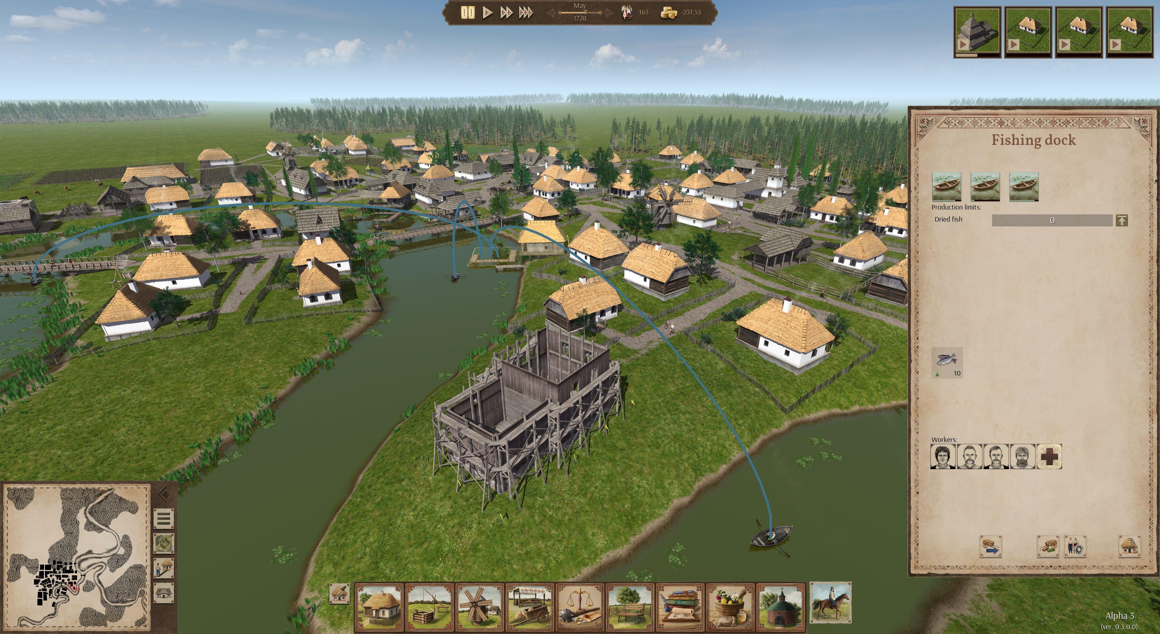 Ostriv A City Building Game