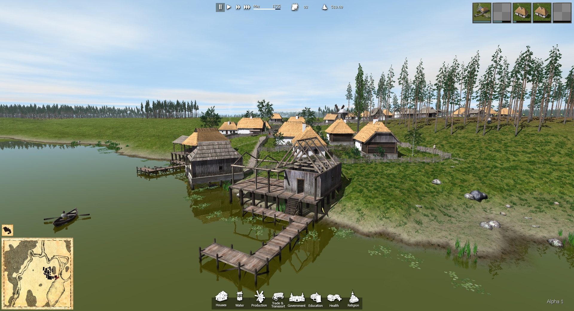 Ostriv a city building game for Home builder online free