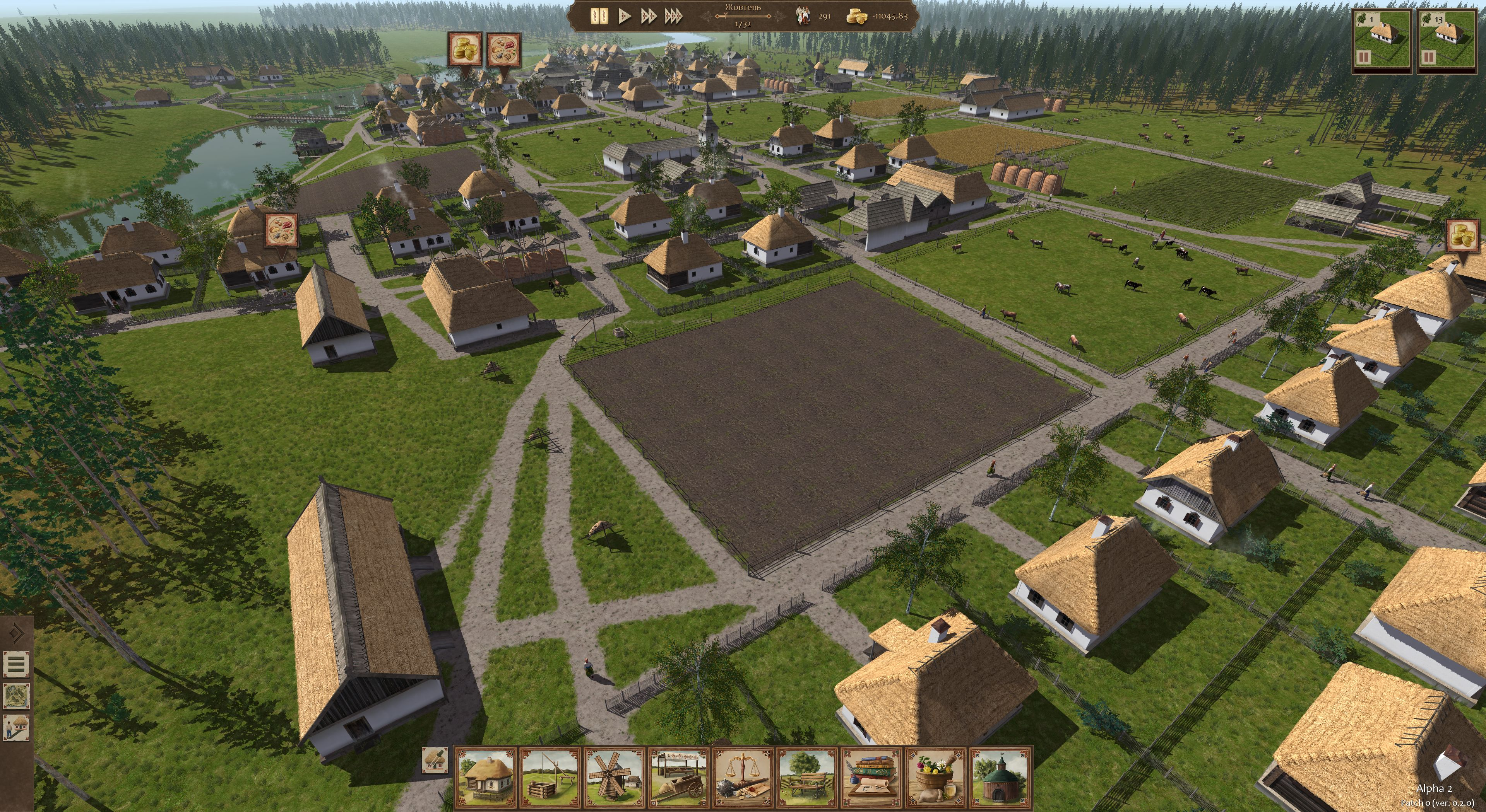 Ostriv – a city building game